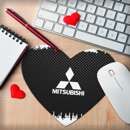 Коврик сердце  Фото 02, Mitsubishi