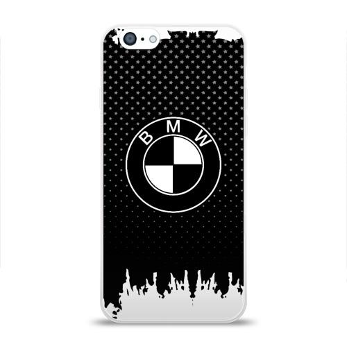 Чехол для Apple iPhone 6 силиконовый глянцевый  Фото 01, Bmw