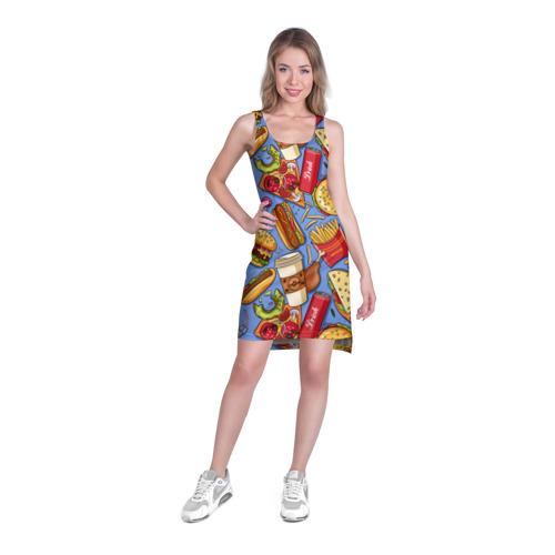 Платье-майка 3D  Фото 03, Fastfood