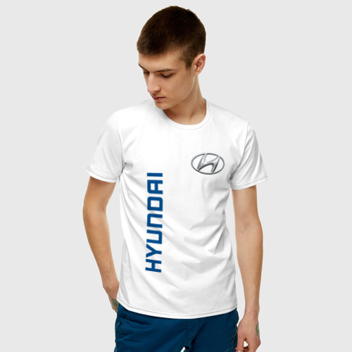 Мужская футболка хлопок Hyundai Фото 01