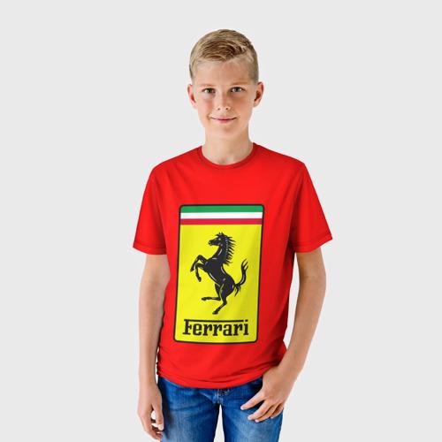Детская футболка 3D Ferrari Only