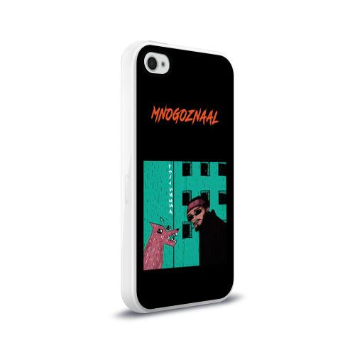 Чехол для Apple iPhone 4/4S силиконовый глянцевый  Фото 02,  Mnogoznaal 8