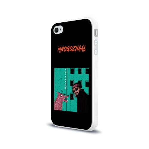 Чехол для Apple iPhone 4/4S силиконовый глянцевый  Фото 03,  Mnogoznaal 8