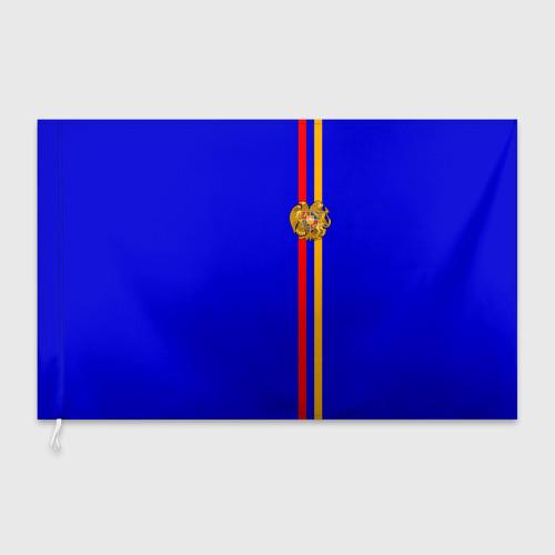Флаг 3D  Фото 03, Армения, лента с гербом