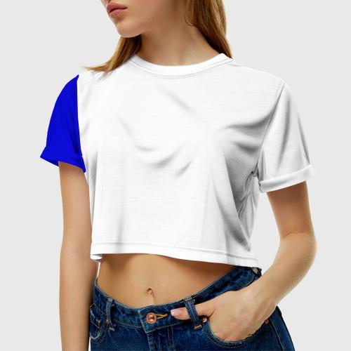 Женская футболка Cropp-top Армения, лента с гербом