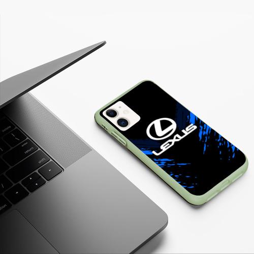 Чехол для iPhone 11 матовый LEXUS SPORT COLLECTION Фото 01