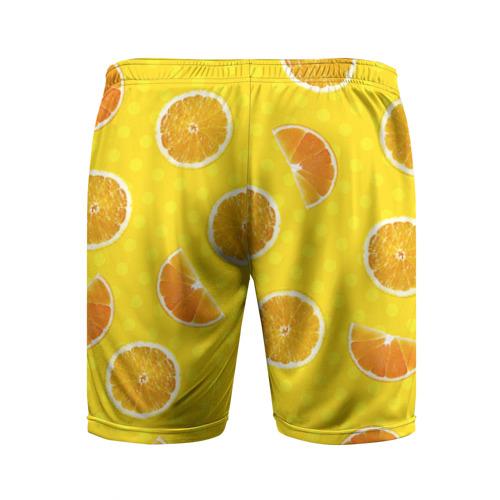 Мужские шорты 3D спортивные  Фото 02, Апельсиновое настроение