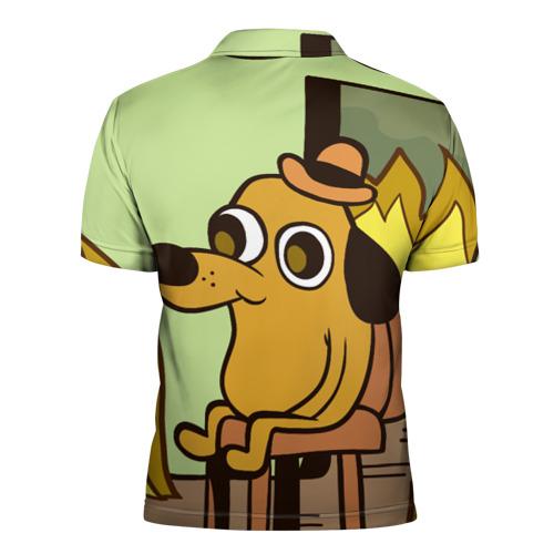 Мужская рубашка поло 3D  Фото 02, This is fine