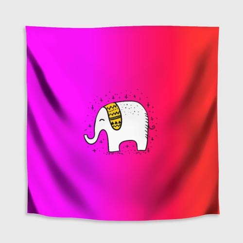 Скатерть 3D  Фото 02, Радужный слоник