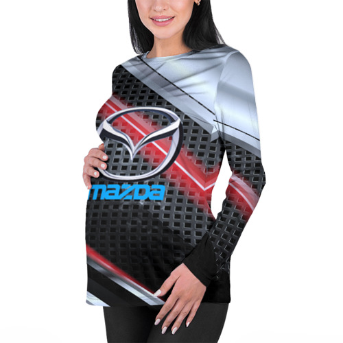Женский лонгслив 3D для беременных  Фото 01, MAZDA high speed collection