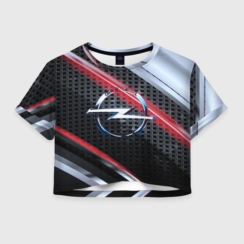 Женская футболка Cropp-top OPEL high speed collection
