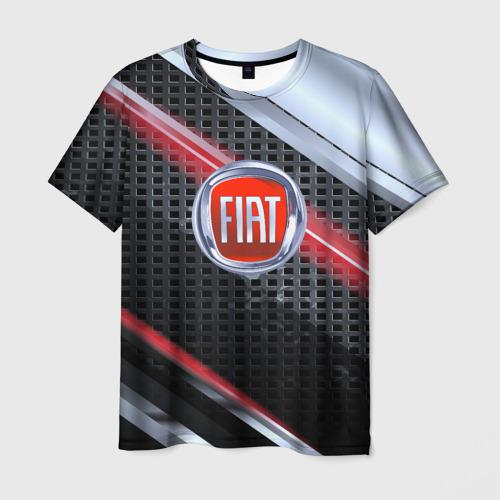 Мужская футболка 3D FIAT high speed collection
