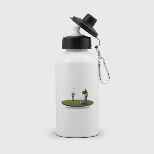 Бутылка спортивная  Фото 01, Геодезия в поле