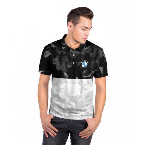 Мужская рубашка поло 3D  Фото 05, BMW BLACK COLLECTION