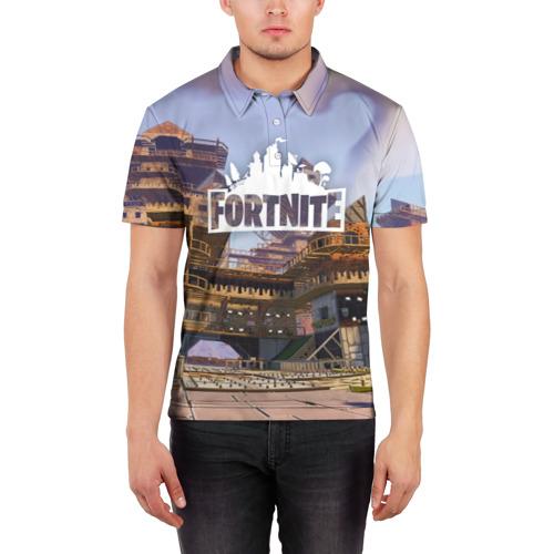Мужская рубашка поло 3D  Фото 03, Fortnite_10