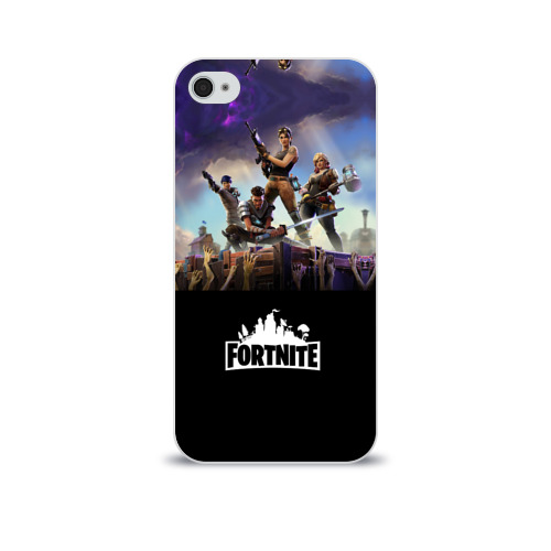 Чехол для Apple iPhone 4/4S soft-touch  Фото 01, Fortnite_15