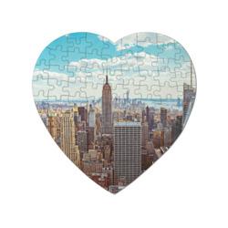 Пазл магнитный сердце 75 элементовСтолица мира (Нью-Йорк)