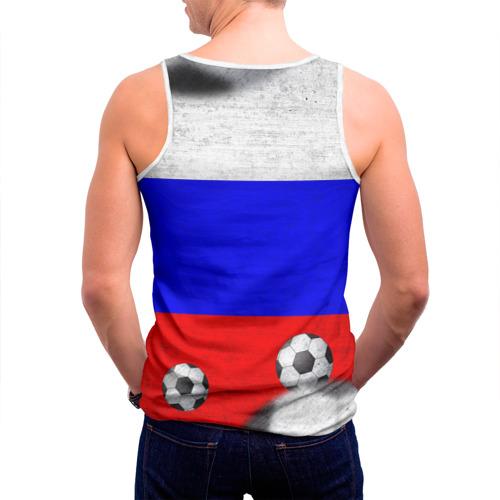 Мужская майка 3D  Фото 04, Фанат сборной России