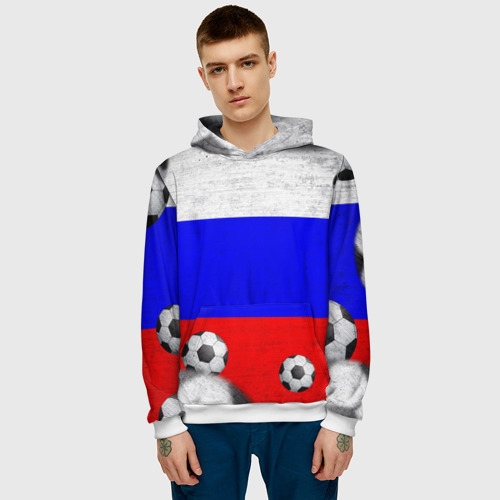 Мужская толстовка 3D  Фото 03, Фанат сборной России