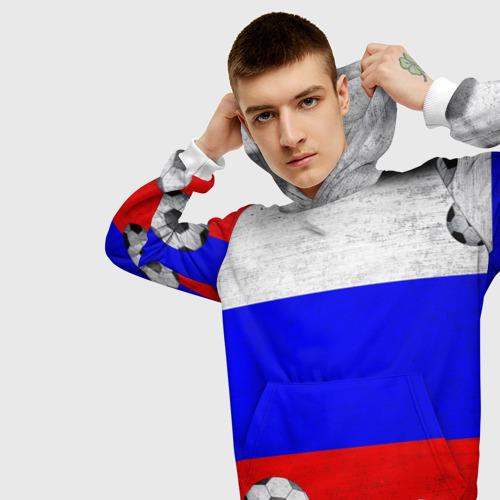 Мужская толстовка 3D  Фото 01, Фанат сборной России