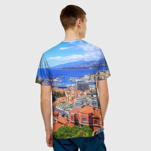 Мужская футболка 3D  Фото 02, Побережье Франции