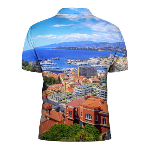 Мужская рубашка поло 3D  Фото 02, Побережье Франции