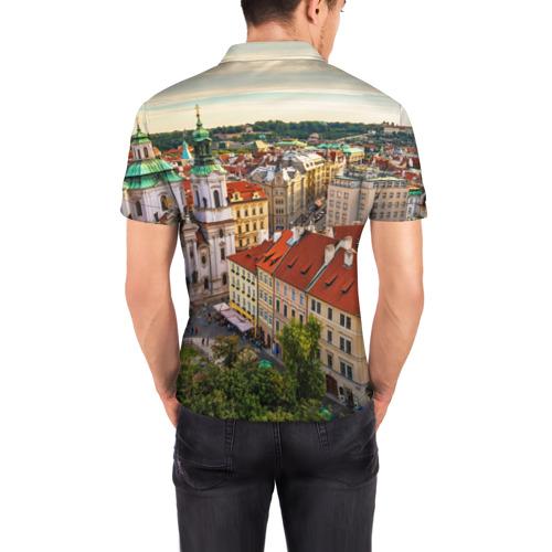 Мужская рубашка поло 3D  Фото 04, Прага (Чехия)