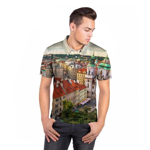Мужская рубашка поло 3D  Фото 05, Прага (Чехия)