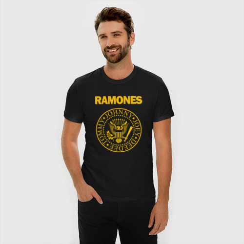 Мужская футболка премиум  Фото 03, Ramones