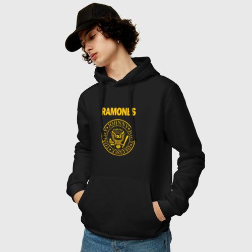 Мужская толстовка хлопок  Фото 03, Ramones