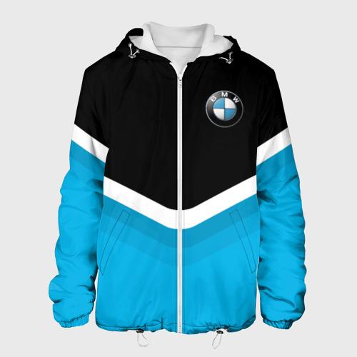 Мужская куртка 3D  Фото 01, BMW Black & Blue