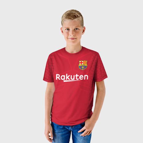 Детская футболка 3D Тер Штеген Вратарская