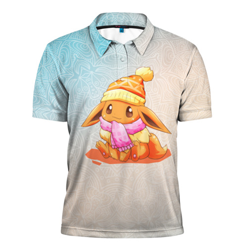 Мужская рубашка поло 3D  Фото 01, Покемон  Иви