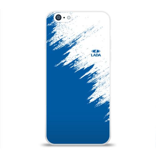 Чехол для Apple iPhone 6 силиконовый глянцевый  Фото 01, LADA
