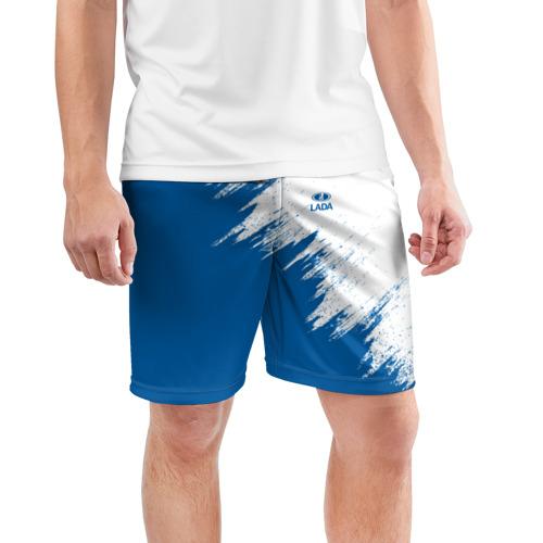 Мужские шорты 3D спортивные  Фото 03, LADA