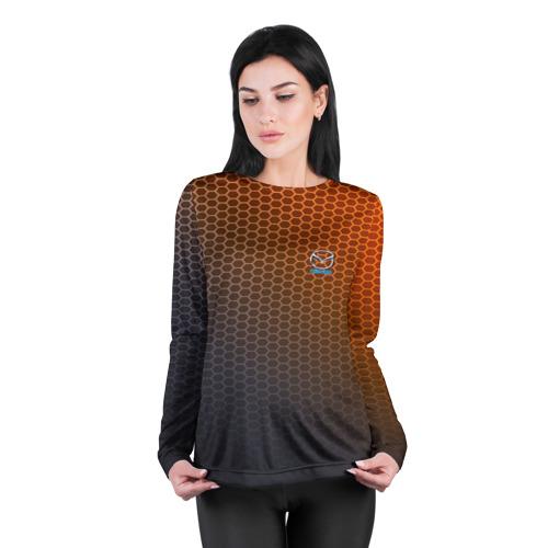 Женский лонгслив 3D для беременных  Фото 04, MAZDA carbon uniform 2018