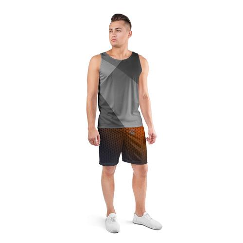 Мужские шорты 3D спортивные  Фото 04, MAZDA carbon uniform 2018