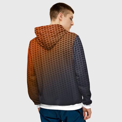 Мужская толстовка 3D  Фото 04, MAZDA carbon uniform 2018