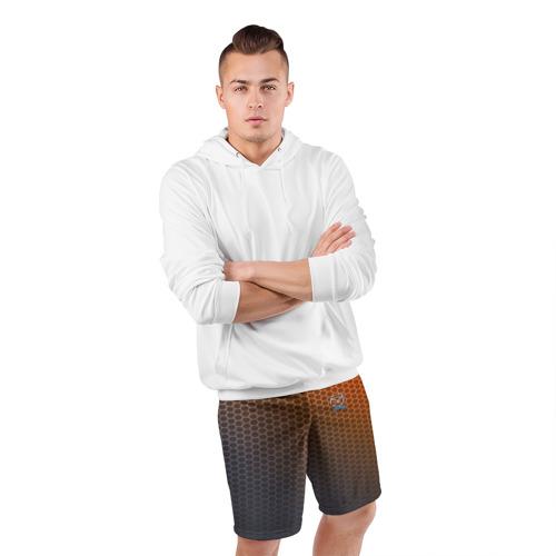 Мужские шорты 3D спортивные  Фото 05, MAZDA carbon uniform 2018