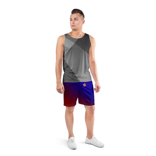 Мужские шорты 3D спортивные  Фото 04, FIAT carbon uniform 2018