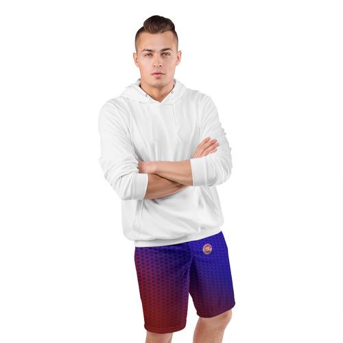 Мужские шорты 3D спортивные  Фото 05, FIAT carbon uniform 2018