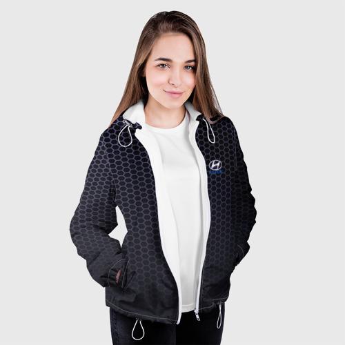 Женская куртка 3D  Фото 04, HYUNDAI carbon uniform 2018