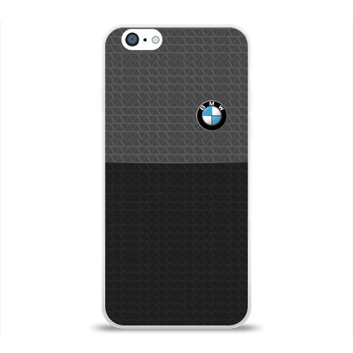 Чехол для Apple iPhone 6 силиконовый глянцевый  Фото 01, BMW SPORT
