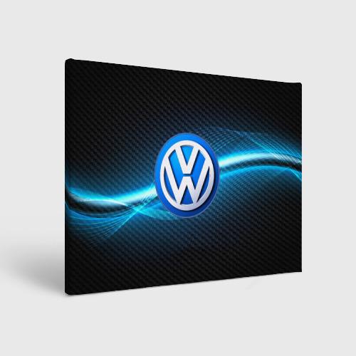 Холст прямоугольный  Фото 01, Volkswagen machine motor XXI