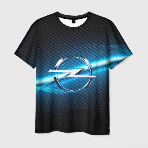 Мужская футболка 3D OPEL machine motor XXI Фото 01