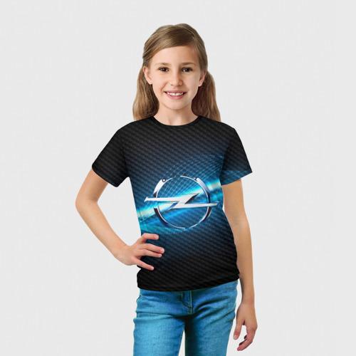 Детская футболка 3D OPEL machine motor XXI Фото 01