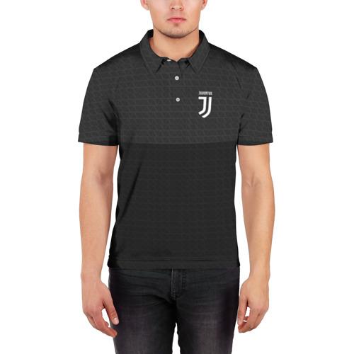 Мужская рубашка поло 3D  Фото 03, JUVENTUS SPORT