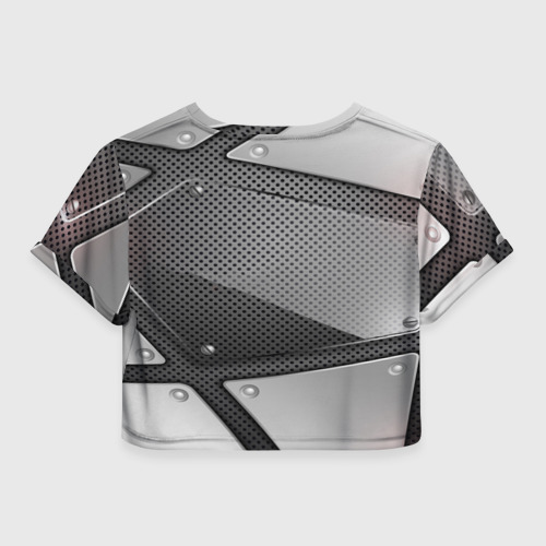 Женская футболка 3D укороченная  Фото 02, KIA metalic motors