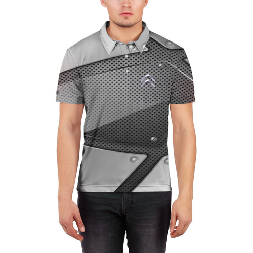 Мужская рубашка поло 3D  Фото 03, CITROEN metalic motors