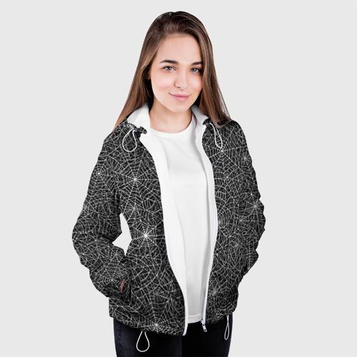 Женская куртка 3D  Фото 04, Паутина
